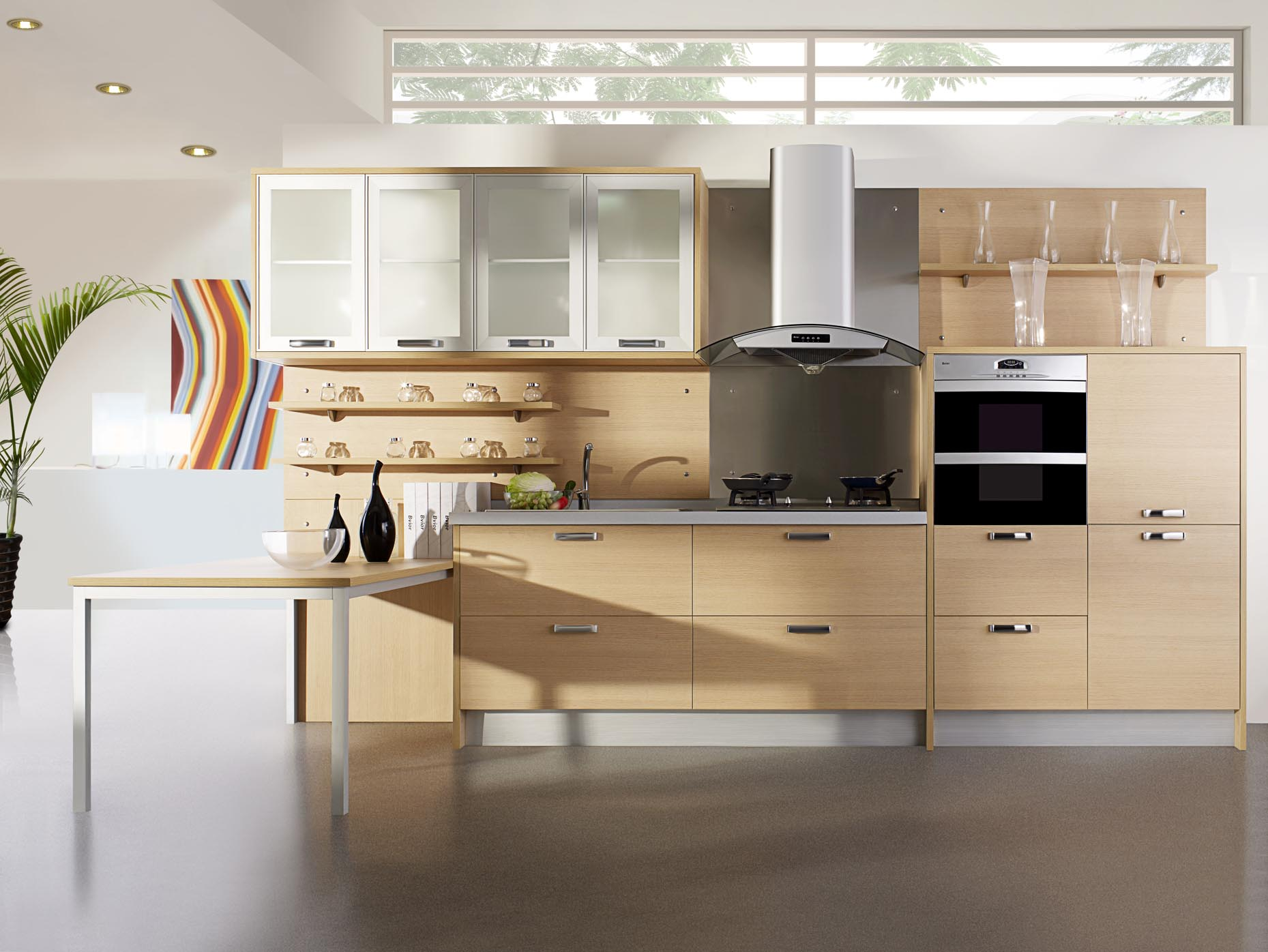 What makes wood cabinets a great choice tdl articles for High level kitchen units
